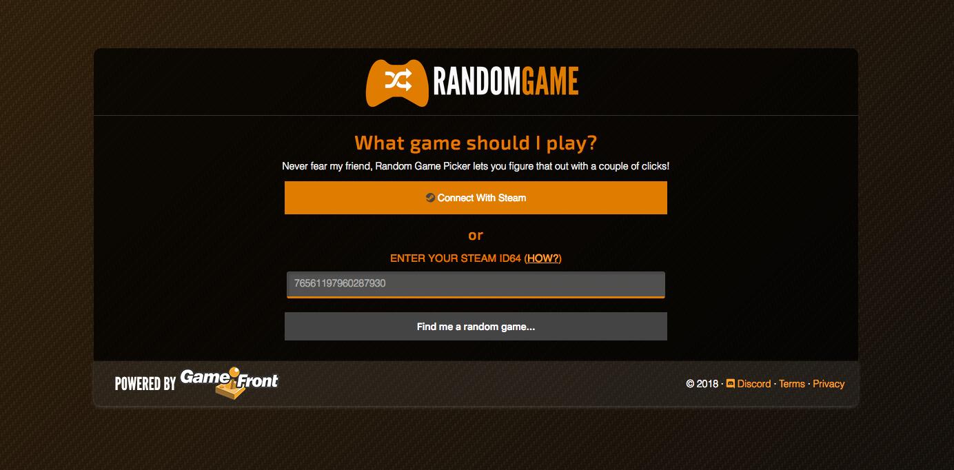 Random Game